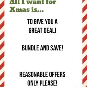 Bundle and save! Please no low ball offers.
